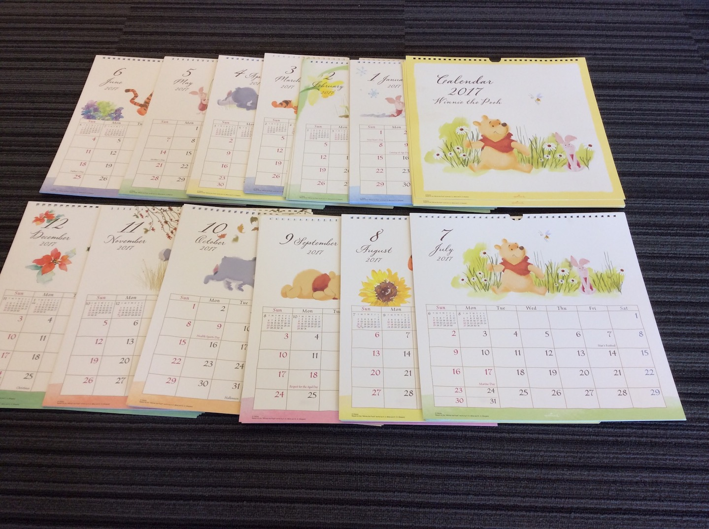 photo of Calender samples