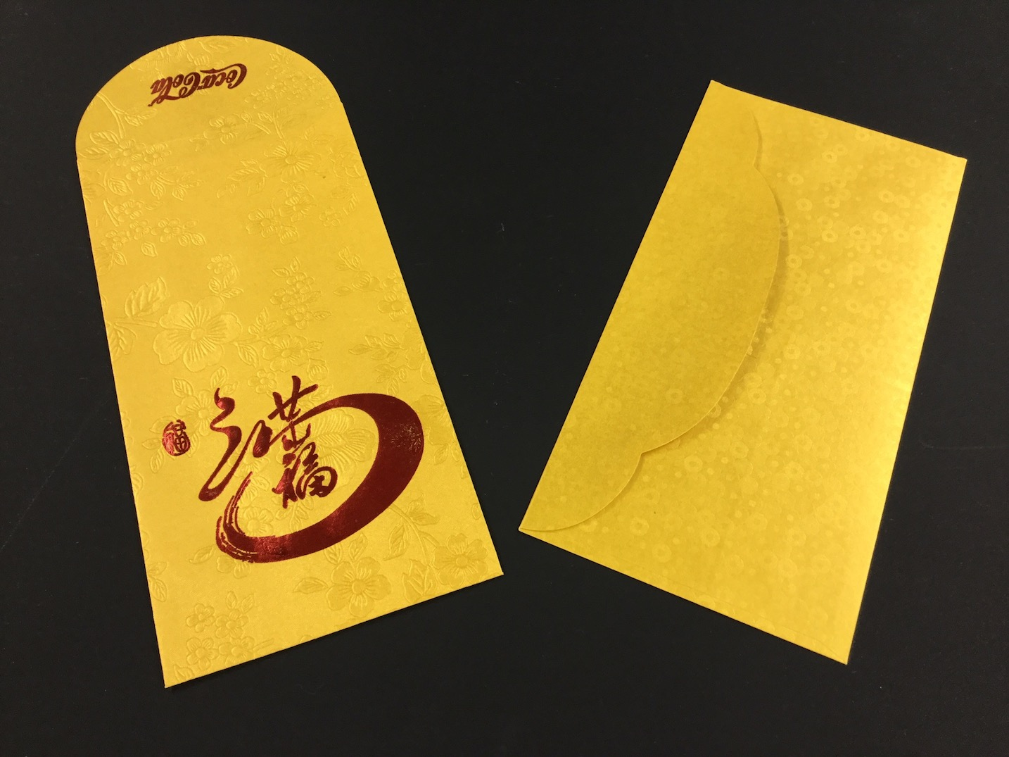 photo of envelope samples