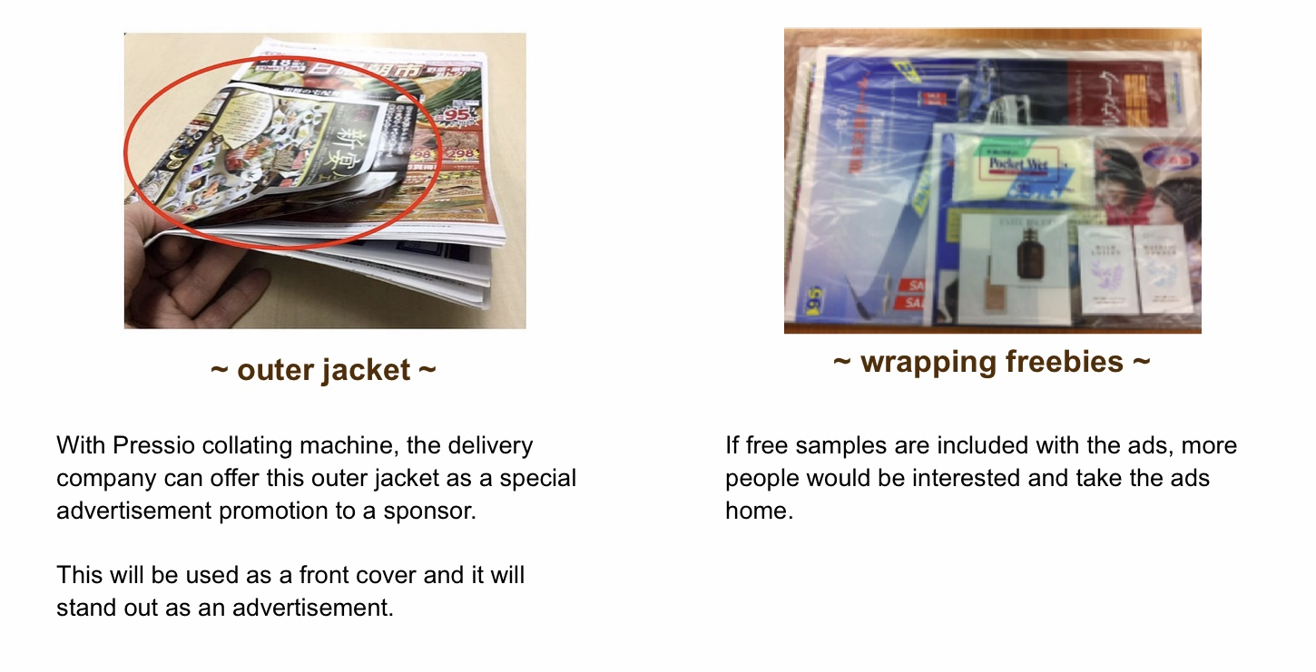 picture-outer jacket and enclosed freebies